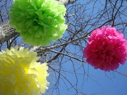 tissue-flower