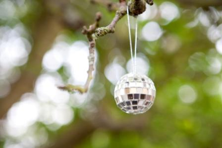 Mirrorball in the tree