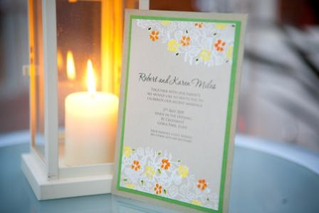 Lantern & invitation