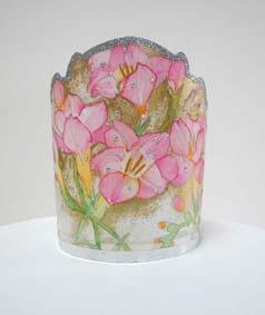 Fleure cake topper